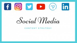 Social media content for each platform