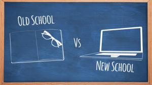 old school vs new school of marketing